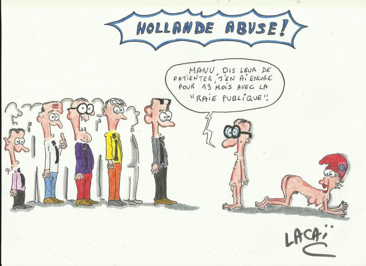 dessin hollande et la republique! y'en a marre à partager!!!