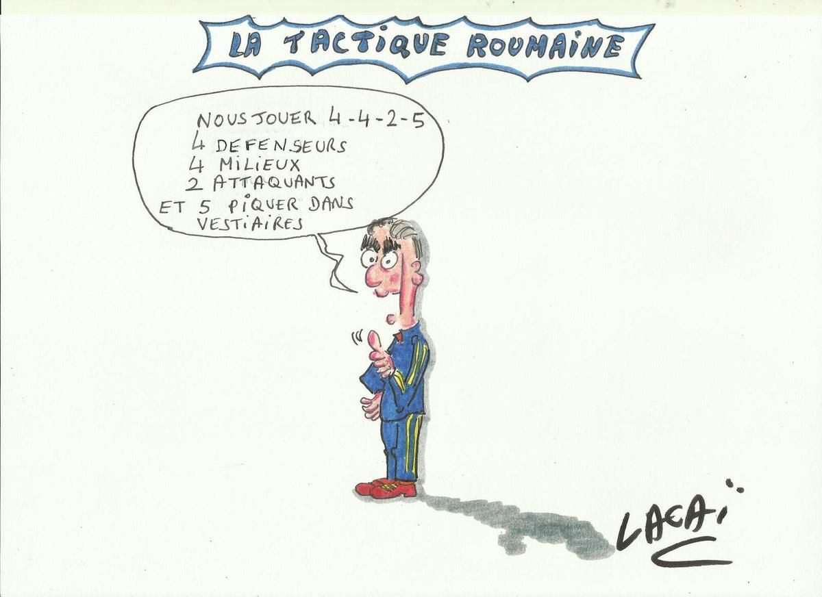 la tactique roumaine ce soir face à la france en exclusivité!!!