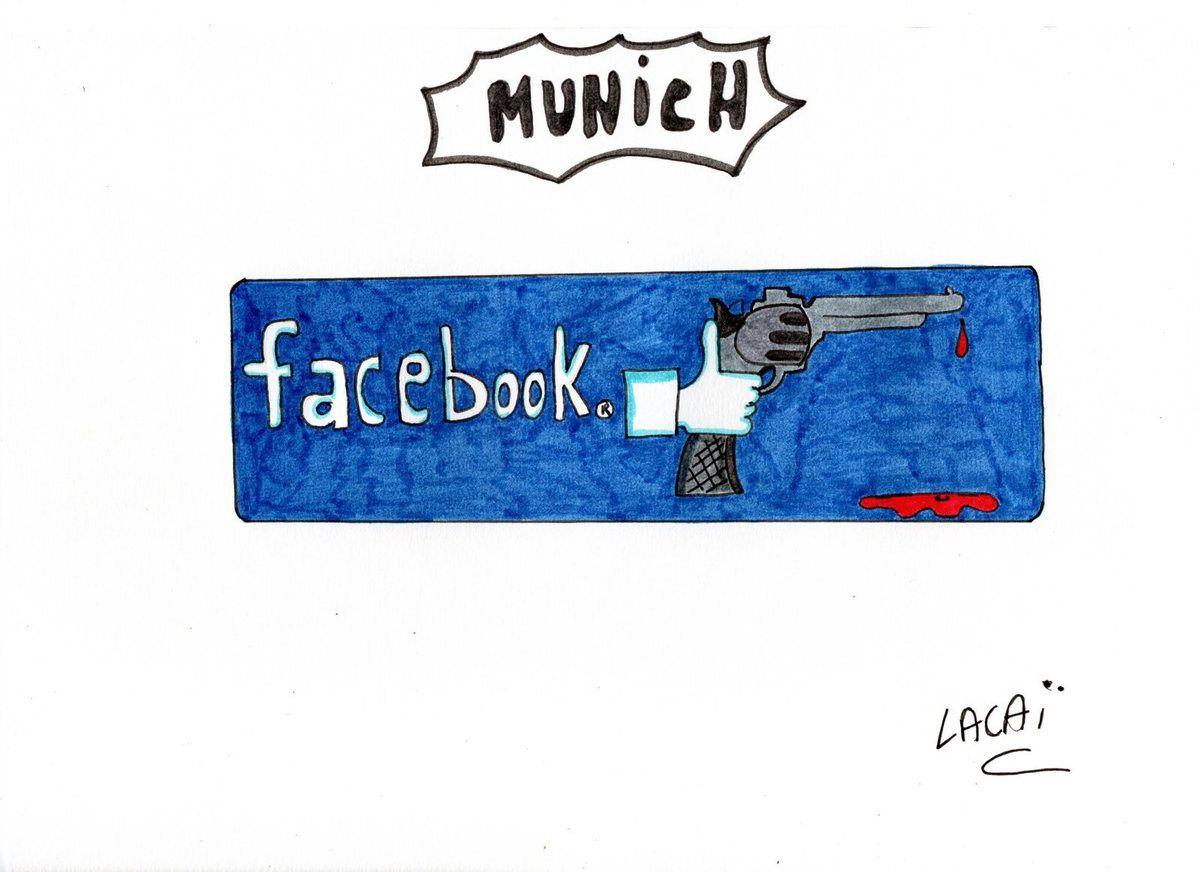 dessin attentat de munich