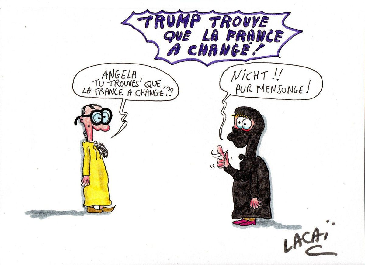 la france n'est plus la france dit donald trump!!!