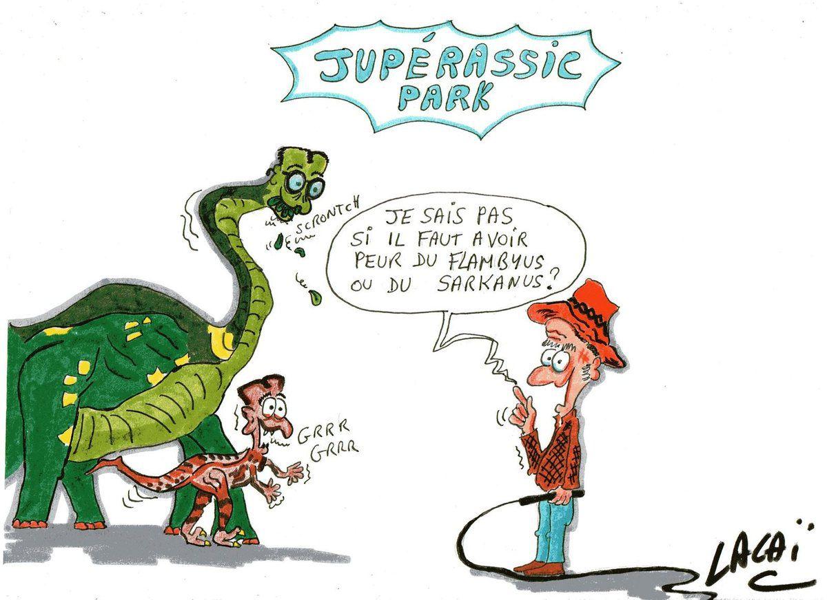 juppérassic park le temps des dinosaures c'est maintenant