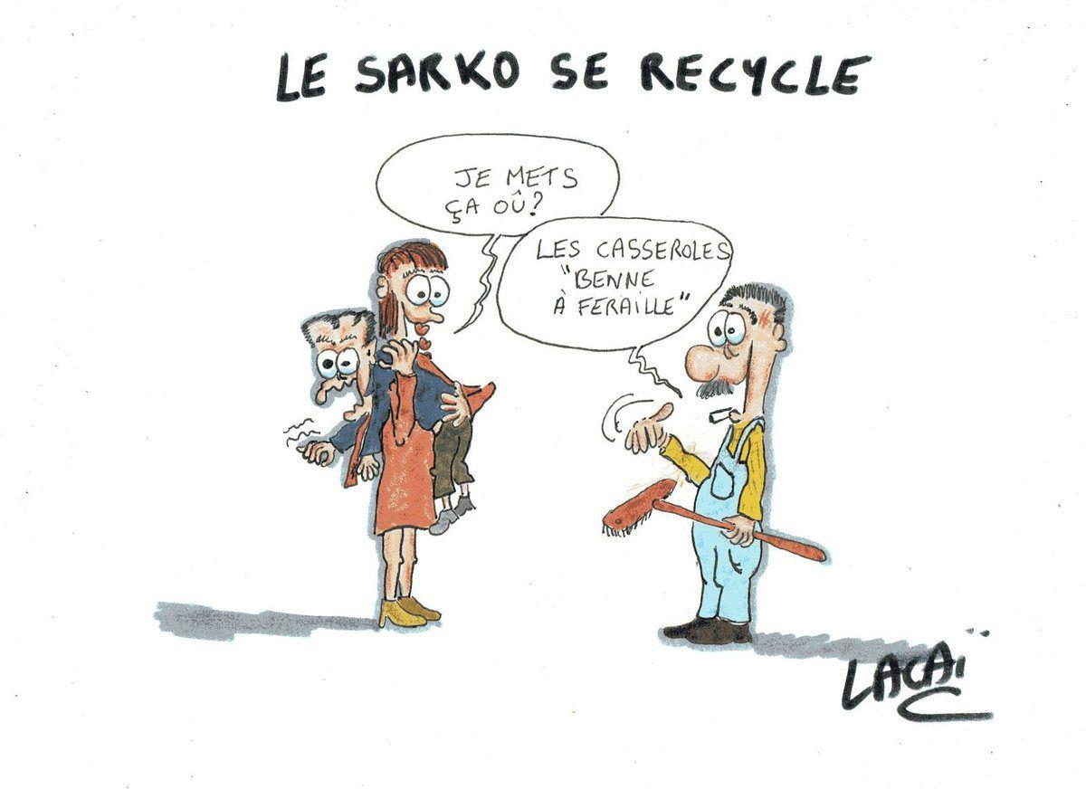 le sarko se recycle...