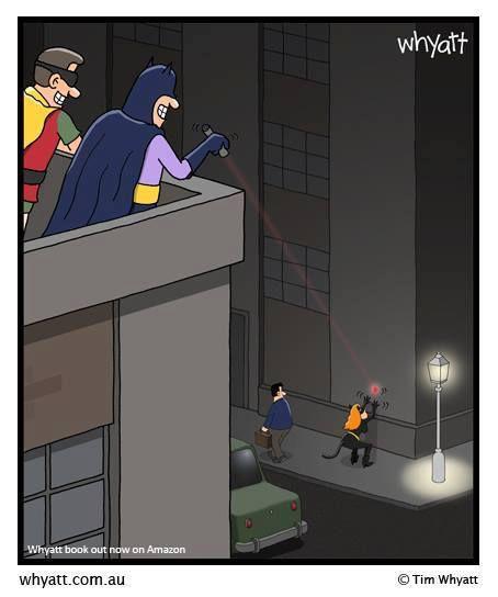 dessin batman et catwoman par whyatt...
