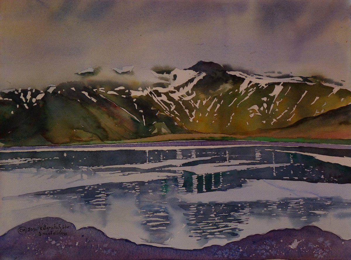 Ce premier fjord en arrivant dans la péninsule de Snaefellness est l'un des plus beaux que nous ayons vu.