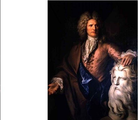 """NICOLAS DE LARGILLIERE """"Portrait de Nicolas Coustou"""""""