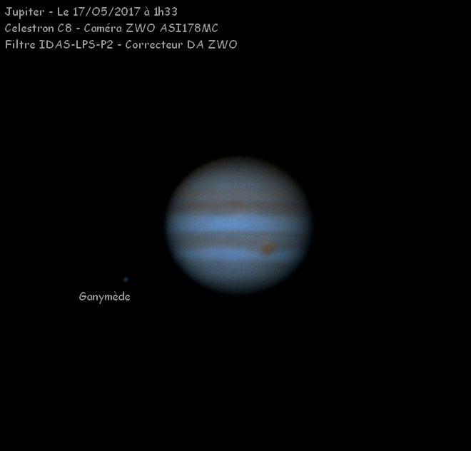 Jupiter, star du moment