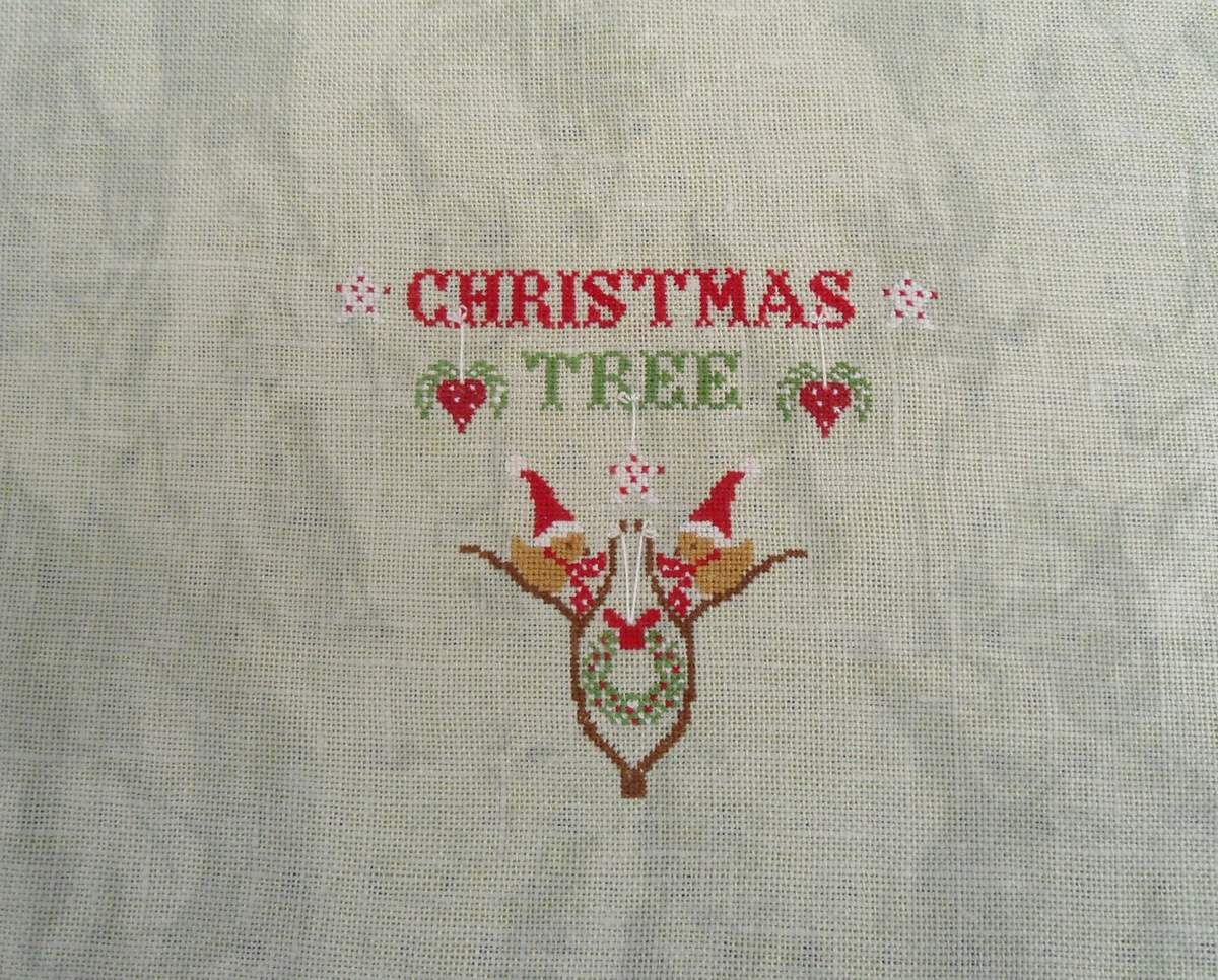 BRODERIE POUR NOEL 2