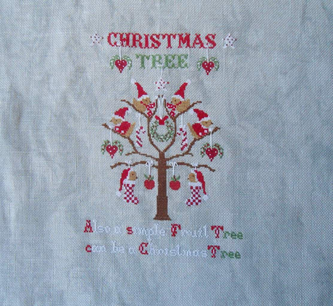 BRODERIE POUR NOEL FIN