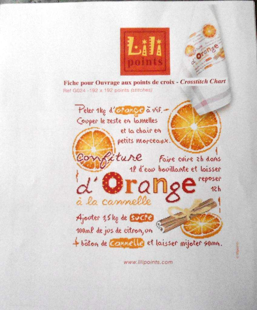 La confiture d'orange de LLP