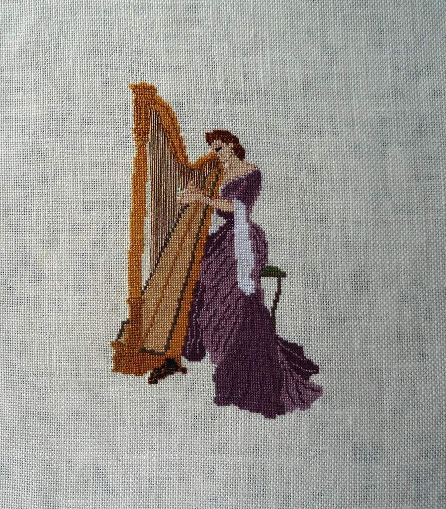 Une Harpe terminée