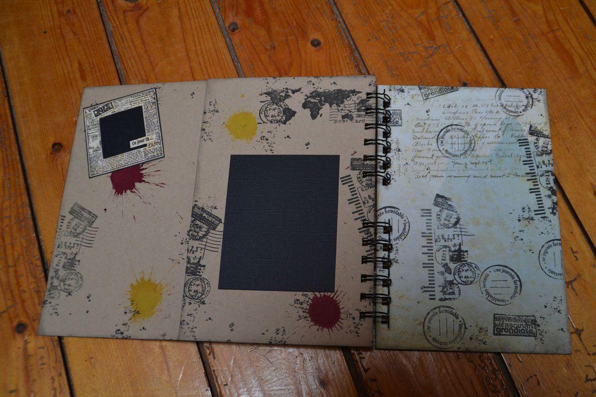 Road book et carte d'anniversaire