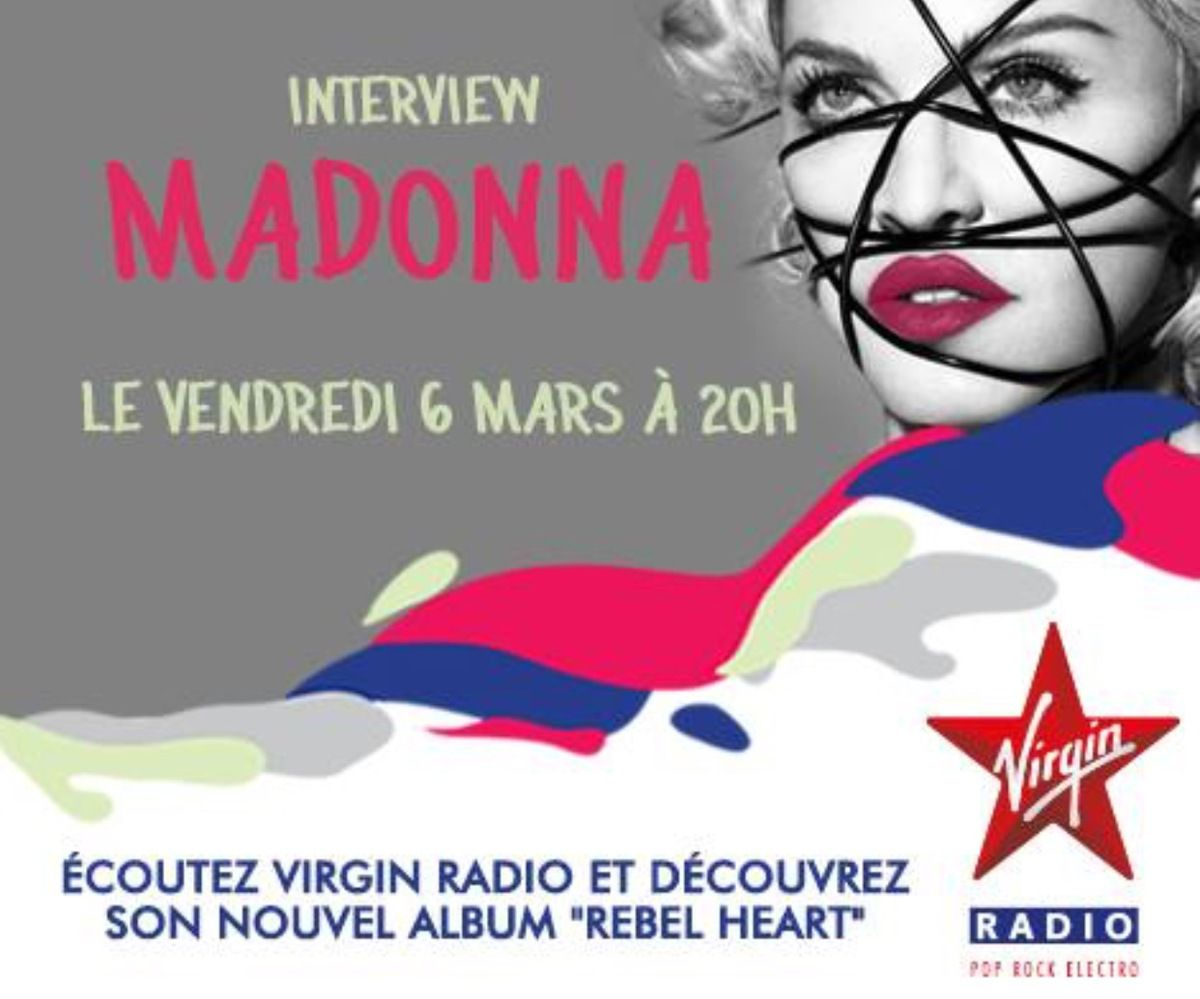 MADONNA SUR VIRGIN RADIO A 20H