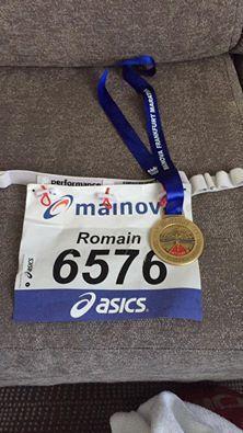 Marathon de Francfort .