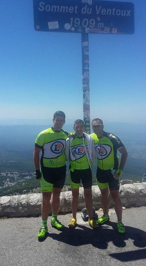 Le trio au Mont Ventoux