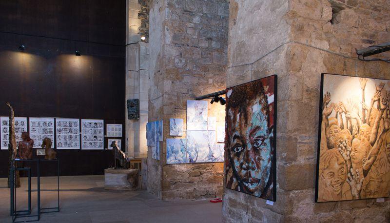 Quelques photos du premier Salon des Lauréats. Exposition 2016.