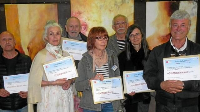 Une grande diversité d'artistes au concours Mélusin'Art