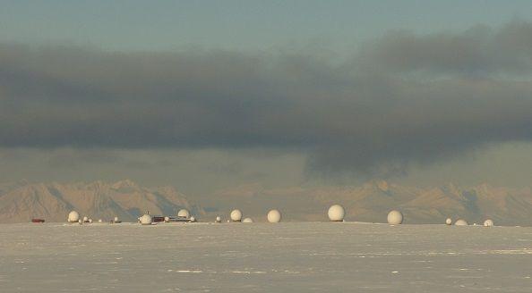 Le réseau d'antennes SVALSAT