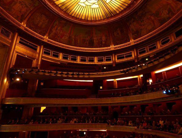 Le Théâtre lors de la présentation de la saison 2015/2016