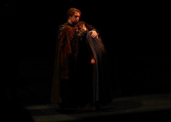 Andrea Mastroni (Banquo) et Alex Gallais (Fleance)