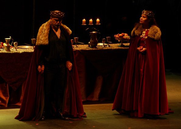 Roberto Frontali (Macbeth) et Susanna Branchini (Lady Macbeth)