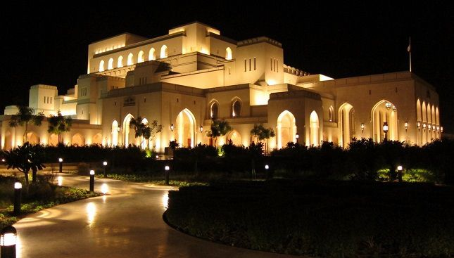 Le Royal Opera House Muscat. Photo : Archaeoadventures.