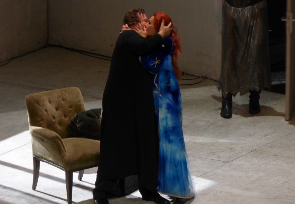 Robert Dean Smith (Tristan) et Waltraud Meier (Isolde)