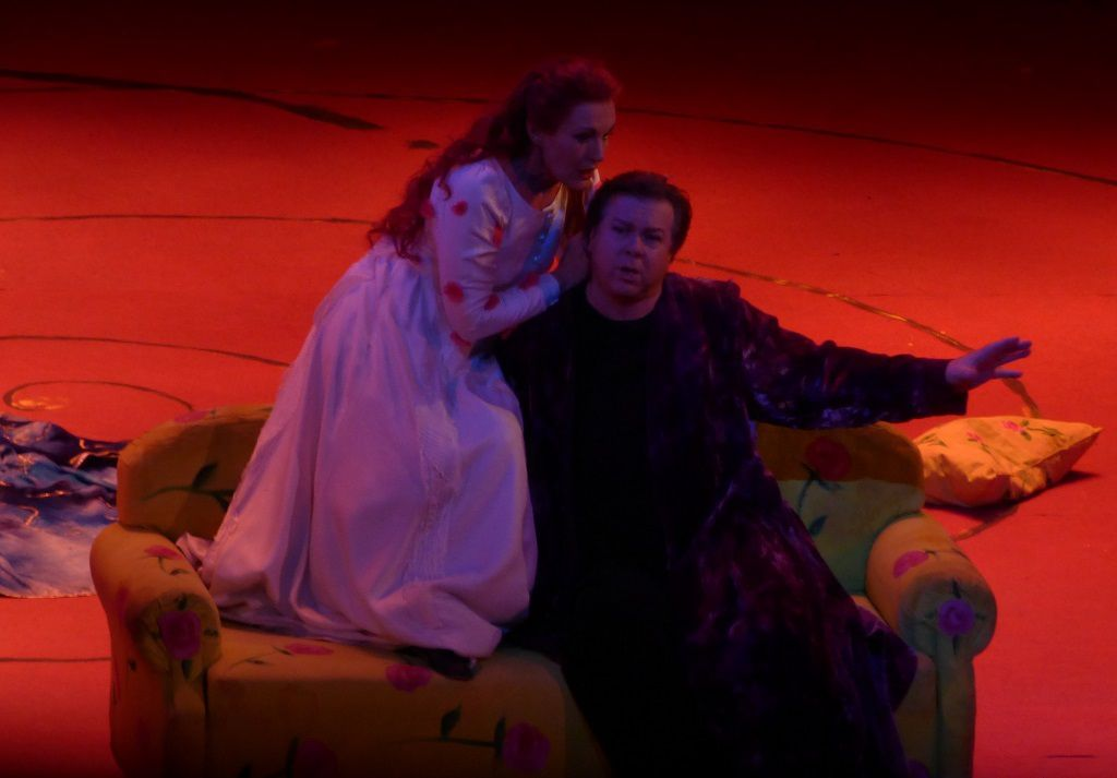 Waltraud Meier (Isolde) et Robert Dean Smith (Tristan)