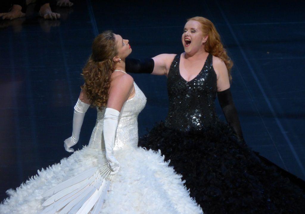 Annette Dasch (Elsa) et Petra Lang (Ortrud)