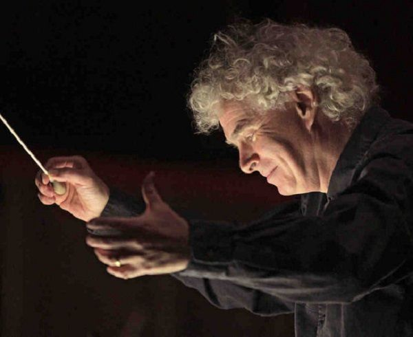 Simon Rattle - Photo Metropolitan Opera