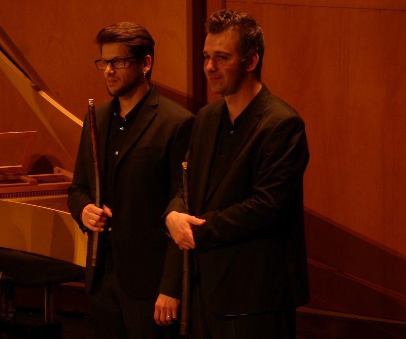 Joueurs de flûtes et de cornets - Ensemble Artaserse