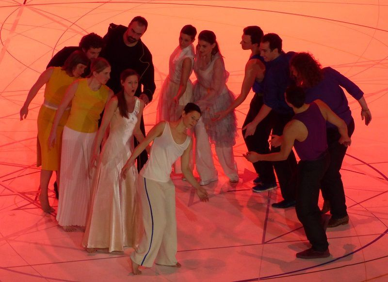 Chanteurs et danseurs