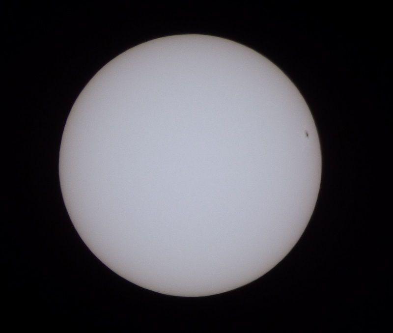 Tâches solaires (groupe 2665) le 16 juillet 2017, 12 h UTC