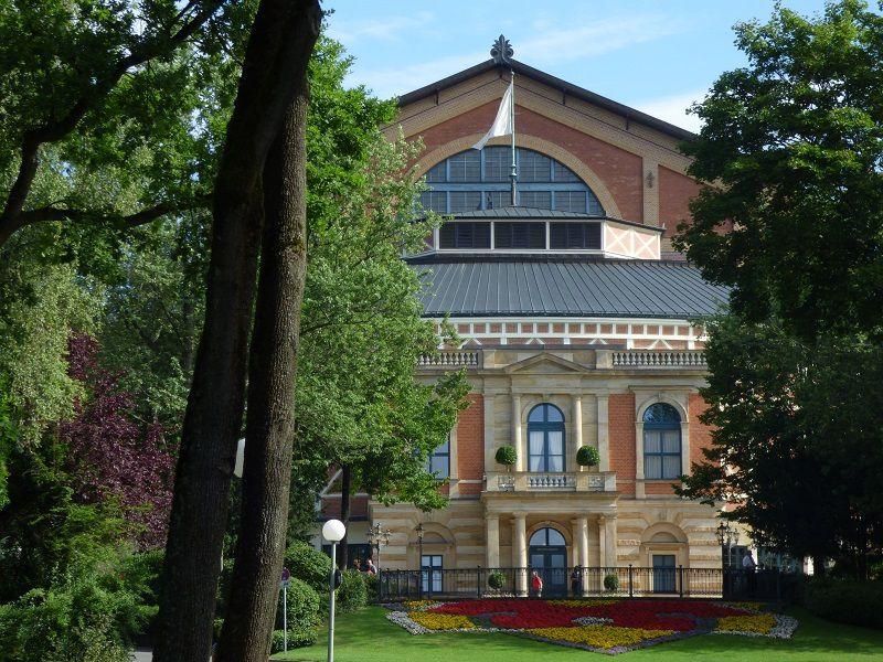 Le Palais des Festivals de Bayreuth