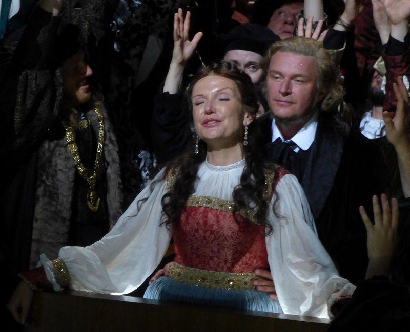 Anne Schwanewilms (Eva) et Klaus Florian Vogt (Walther)