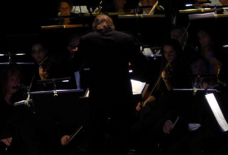 Sylvain Cambreling et l'orchestre du Bochumer Symphoniker