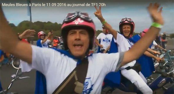 Avant de venir se confronter aux équipages engagés à la Ronde de 12 heures le 1er octobre prochain, Olivier se pavanait sur sa Bleue en plein Paris.