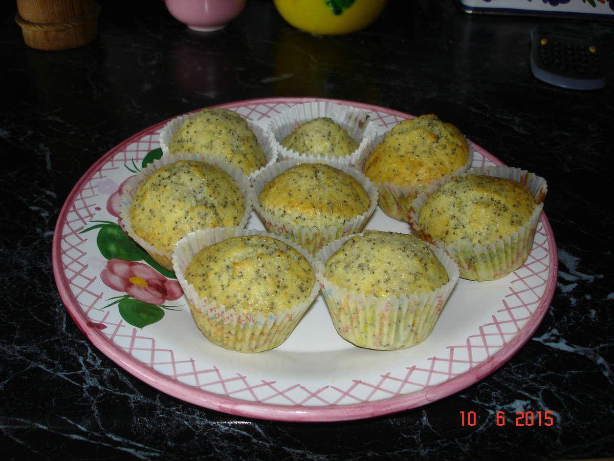 Muffins citron graines de pavot