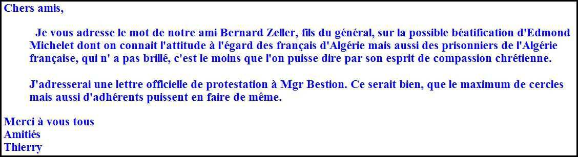 Béatification d'Edmond Michelet‏