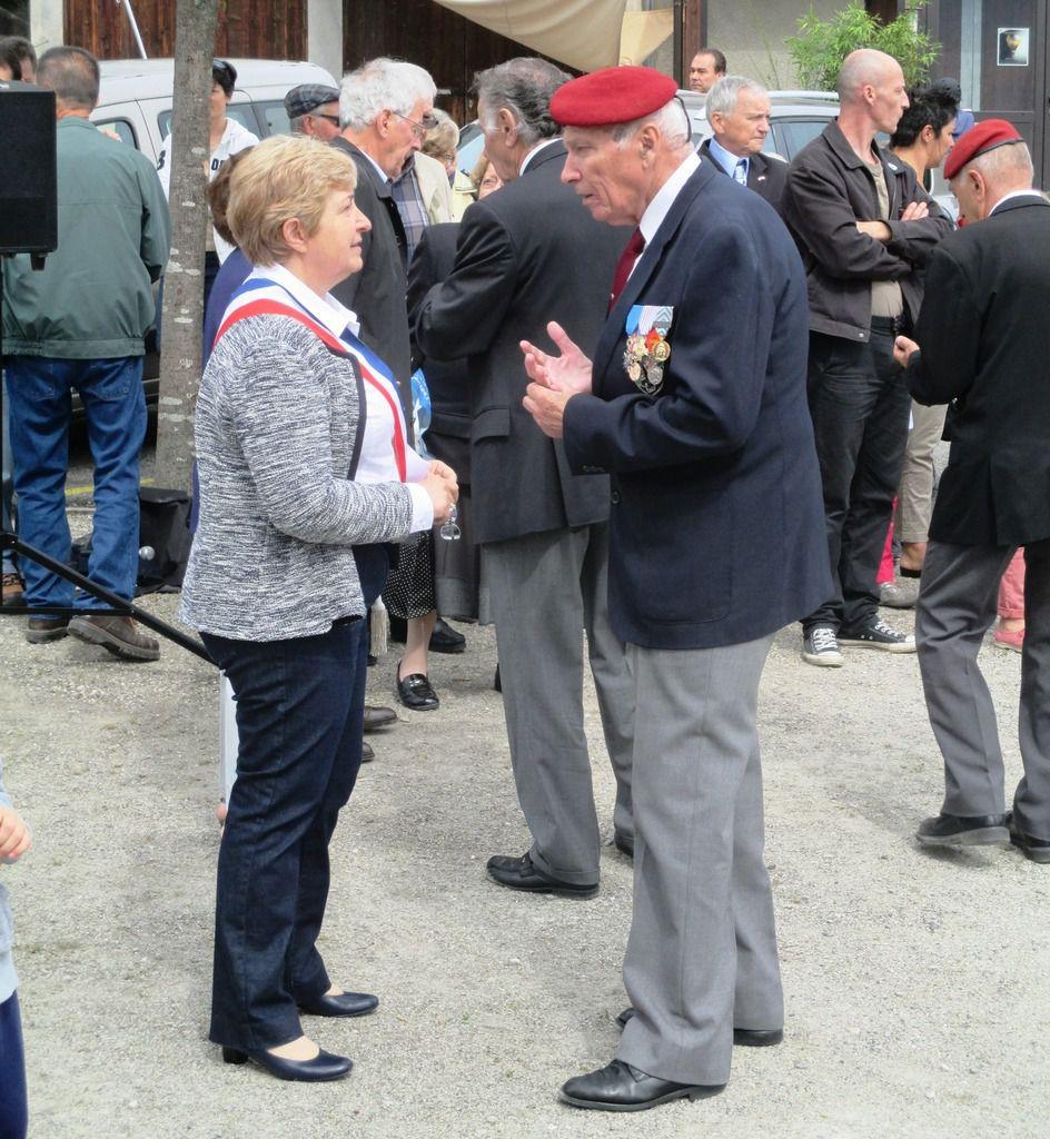 Commémoration du 8 mai 1945 à Biviers : Quelques photos