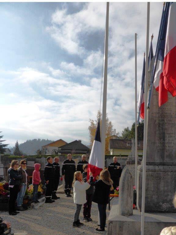 BERNIN : cérémonie du 11 novembre 2015