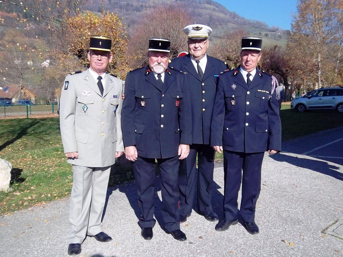 Theys , cérémonie du 11 novembre 2015