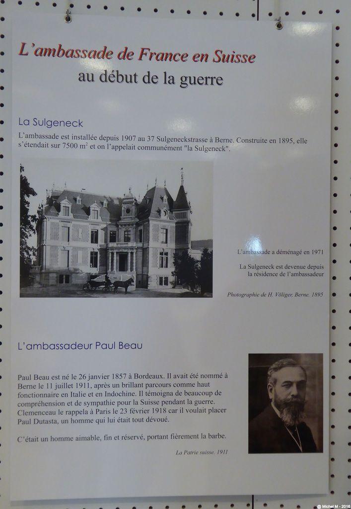 Exposition sur l'espionnage à Montbonnot