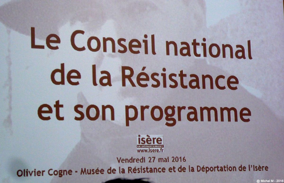 Journée Nationale de la Résistance à St Ismier
