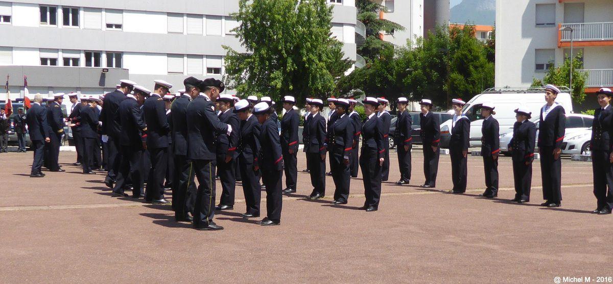 Remise des brevets de la Préparation Militaire Marine