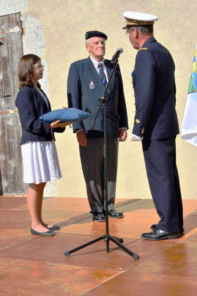 Discours pour la réception dans l'ordre de Légion d'honneur de Pierre Maurice