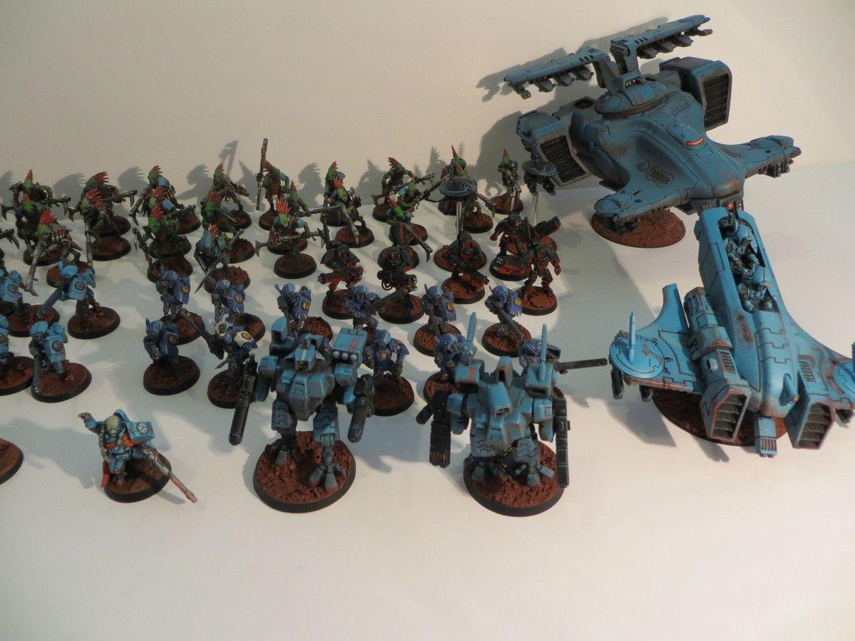 Vue d'ensemble armée TAU