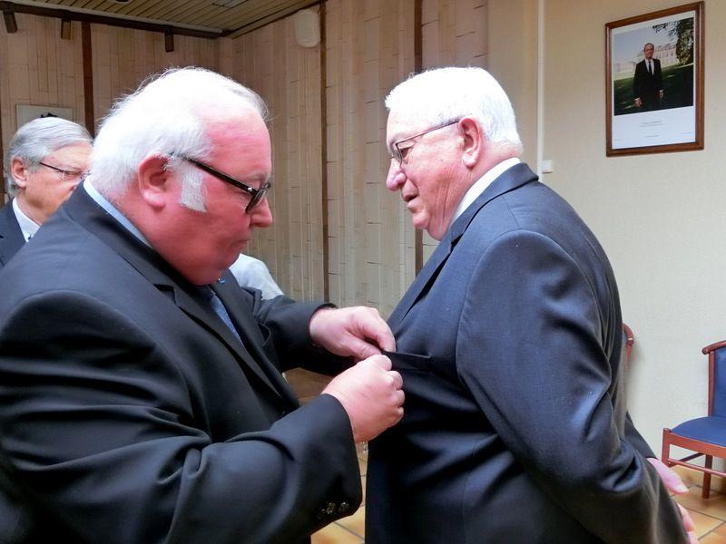 Médaille du Mérite agricole remise à Mr Jean Guenot