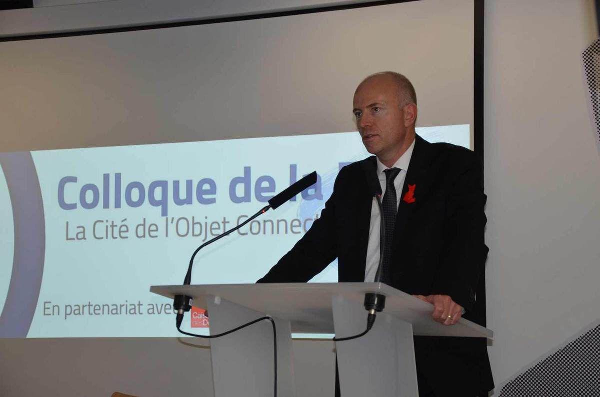 Etienne Dugas, Président FIRIP