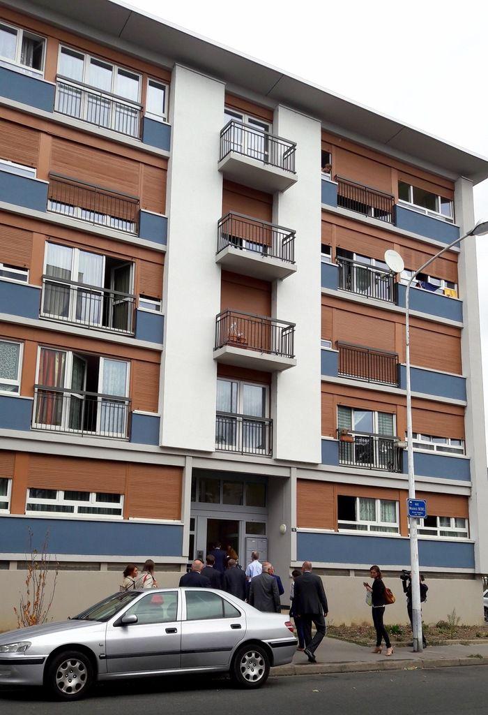 Résidence équipée en compteurs intelligent - rue Maurice Bedel à Tours