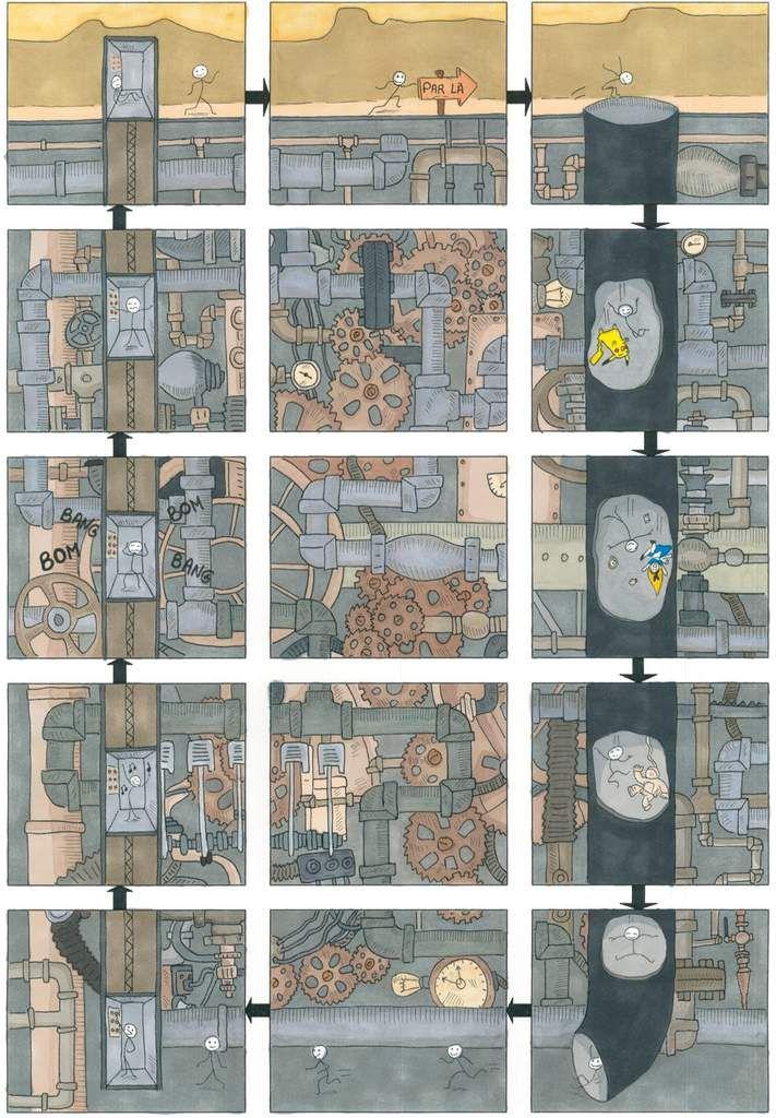 Planches des lauréats du Concours BD d'Angoulême 2017